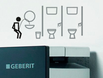 Geberit toilet icons